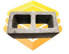 Блок 2-хпустотный сквозной