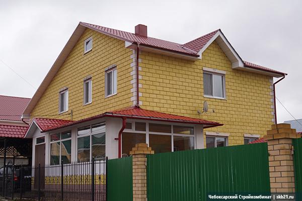 дом из блоков теплостен