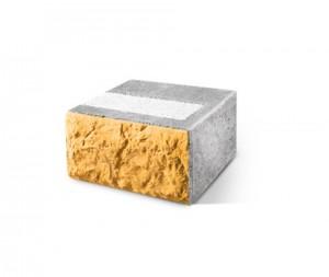 Трехслойный блок для дверных проемов