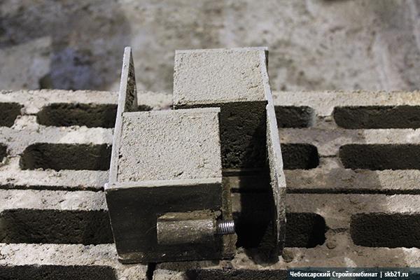 Кубики керамзитобетона для испытаний